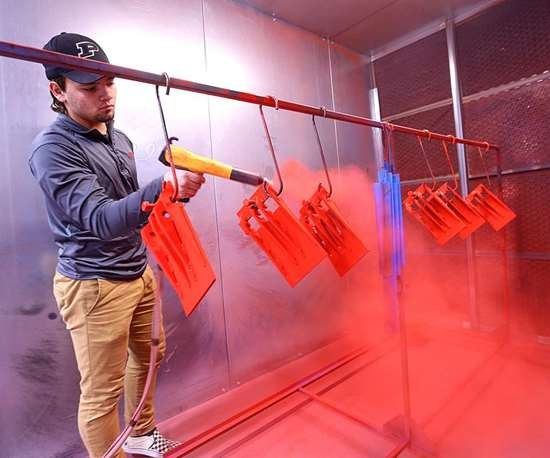 Cleveland Ohio Powder Coating: High School Training Program Adds Powder Coating