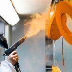 "Cleveland Ohio Powder Coating:  ""Films as thin as a few microns can be achieved"""
