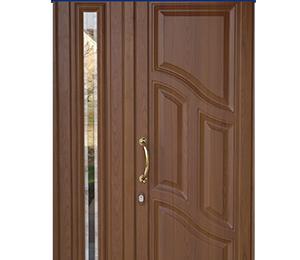 WOOD-GRAIN-POWDER-COATING-DOORS-8